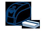 Impressoras Tarjetas Alcance Médio